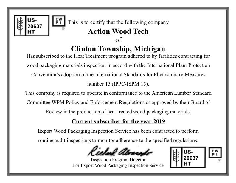 2019 HT Certification